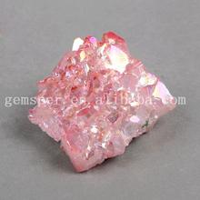 Natural healing stone spirit quaitz crystal, aura quartz crystal, apophyllite