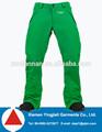 moda para hombre de snowboard ski pantalones para los hombres de yingjieli