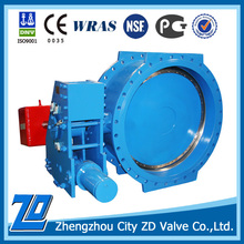 Durable and High quality Hydraulic control butterfly valve for Hydropower station
