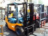 2.5 ton used TOYOTA forklift 2.5ton for sale