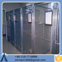 2015 New design fashionable powder coating convenient high quality comfortable large outdoor dog kennels