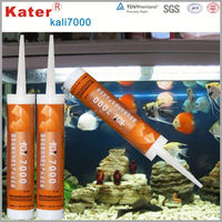 KALI Series eminent quality transparent silicone adhesive for glass