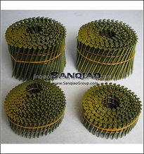LEADING FACTORY !15 DEGREE BEST PRICE COIL NAIL CLAVOS EN ROLLO/PREGOS COIL FOR MADERA DE PALLET