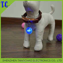 Pet Dog Safety Pet light LED Light Up Flashing Glowing In The Dark Pet Dog Cat Collar Safety Necklace For Dogs