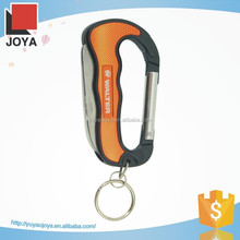 Folding Promotional Mini Coating Knife with Keychain Carabiner