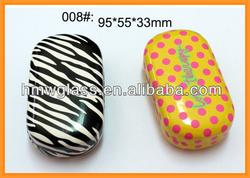 Black dots pattern, cute Contact lens cases