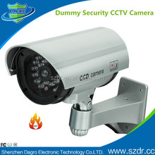 Low Cost Easy to Install Battery Powered Wireless Fake IR Dummy CCTV Camera