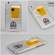 alibaba china cocktaik RedWine design TPU cell phone accessory for iphone 6, for iphone6 case factory price