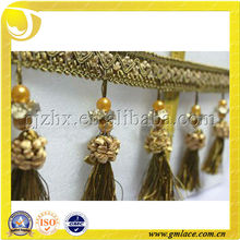 Cheap Curtain Tassel Fringes and Trimming for Curtain,Living Room Design