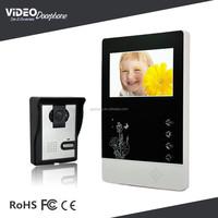 Cheap Intercom System with Waterproof Wired Doorbell Video Intercom
