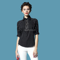 casual shirt women new 2015 ladies women clothing fashion short sleeve women's blouses flax tops clothing Free shipping