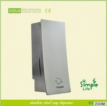 Newest Manual Liquid Stainless Steel Soap Dispenser, Matte and Polished Finish for Choice