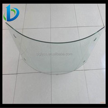 High accurate curved Glass for roof tile solar panel,curved solar glass,bent solar glass