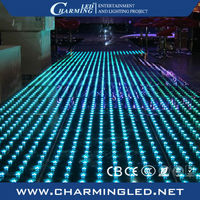 Hign brightness SMD5050 illuminated led dance floor for sale