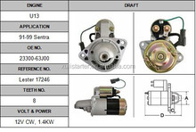 Original starter Nissan U13 23300-53j01 starter