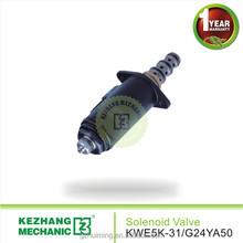 export quality YB35V00006F1 KWE5K-31/G24YA50 hydraulic diverter valves for engineering machinery