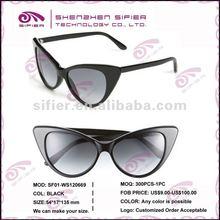 2012 Fashion Cat-Eye Sunglasses For Women Acetate Frame