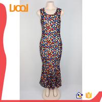 Customized Printing Pattern african kitenge designs dresses