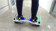 Colorful electric chariot scooter swegway price cost with smart balance wheel With LED electric