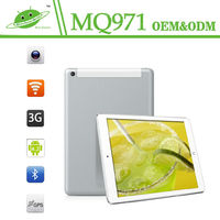 New 9.7inch IPS RAM 1G ROB 16G MQ971 Camera Front 0.3M Back 5.0M GPS Quad Core MTK8382 android 3g 10 inch tablet pc