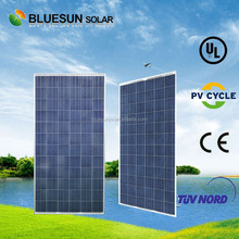 Bluesun Chinese manufacturer TUV ISO CE UL fully certified 300wp poly suntech amorphous silicon solar pv module
