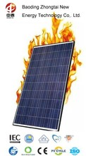 Home and commercial use polycrystalline silicon 240W solar panel