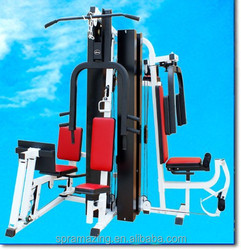 high quality multi station gym equipment/AMA-9600H 5 stations gym machines from Guangzhou.China with new cushinon