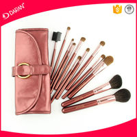 custome logo brush cosmetics, 12PCS makeup brushes set