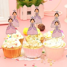 Wholesale Cute Eco-Friendly Birthday Party Cupcake Topper