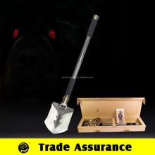 Portable folding pick shovel ,jeep tool kits ,snow and garden spade shovel
