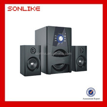 Classical design 2.1 home theater sound system speaker with good sound quality