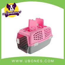 Hot selling plastic fashion dog carrier Pet Bag Cat Dog Bag Pet Carrier for Cat in 4 Colors