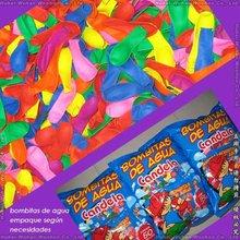 globos de agua fluorescentes de latex en colores surtidos