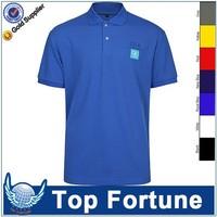 custom color combination pique polo shirt design