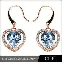 Handmade Wholesale Danglers Diamond Earrings Jewelry Dangler