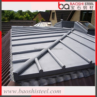 Baoshi Steel durable heat resist textured cheap sheet metal roof prices