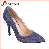 Lady high heel pumps fashion girls spring shoes
