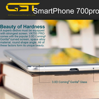 Wholesale Stock 700 Pro 5.5 inch Android 4.4 Smart Phone, MTK6582 Quad Core 1.3GHz, ROM: 8GB, RAM: 1GB, Support GPS