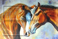 Wholesale Horse Oil Animal Canvas Painting