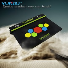 Foldable 15W Solar Power Bank for samsung galaxy s 4 mobile phone accessories factory in China
