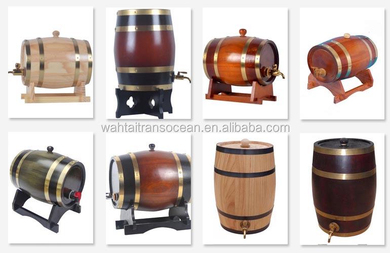 Handmade Wood Storage Keg
