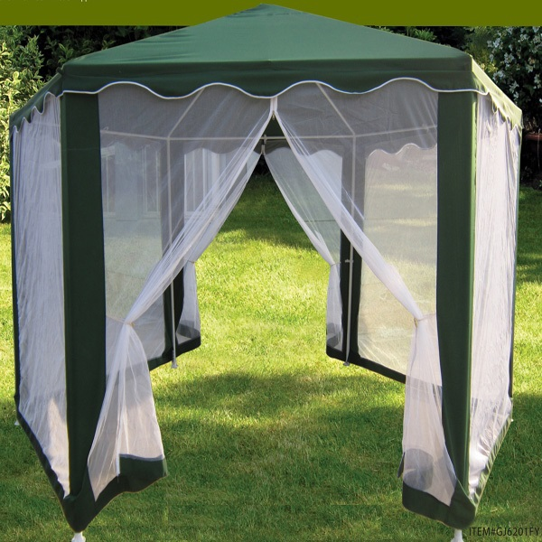 Hexagon foldable with mosquito net canopy tent - Canopy tent with mosquito net ...