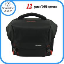 Factory Supplier Black Fancy Digital Nylon Slr Camera Bag