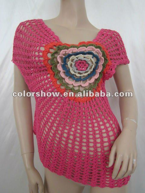 Suéter de ganchillo patrón
