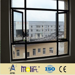 AFOL tempered glass aluminium windows frames in china