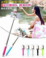 wireless bluetooth with remote selfie timer stick