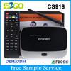 Top selling CS918 RK3188 1G 8G 4K Quad Core 1.8GHz ott tv box smart tv box
