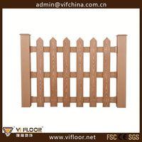 Wood Plastic Composite Good Price WPC Park Fence
