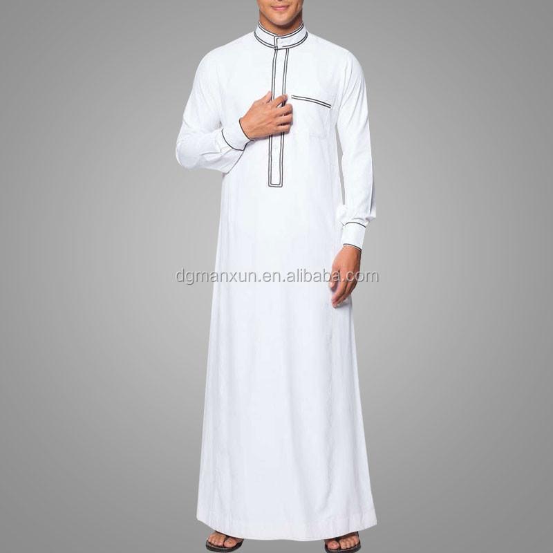 Modern muslim men jubah fashion men thobe jubah abaya