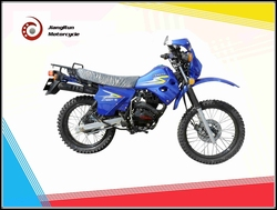 Two wheels and 4-stroke 150cc JiaLing motorcoss / street dirt motorcycle on sale
